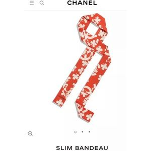 SALE❗️Authentic Chanel Bandeau Scarf